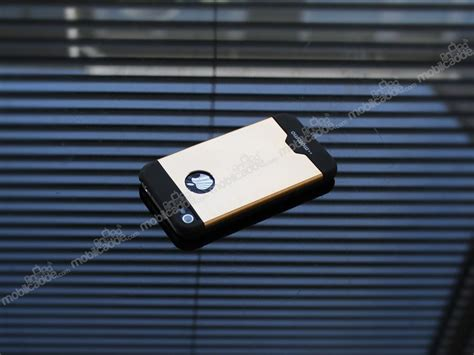 Mghardcase Motomo Metal For Iphone 4g4s motomo iphone 4 4s metal gold rubber k箟l箟f