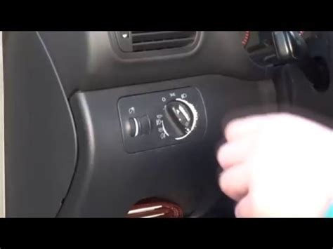 Audi A3 Lichtschalter by A3 8l Lichtschalter Austauschen Light Switch Youtube