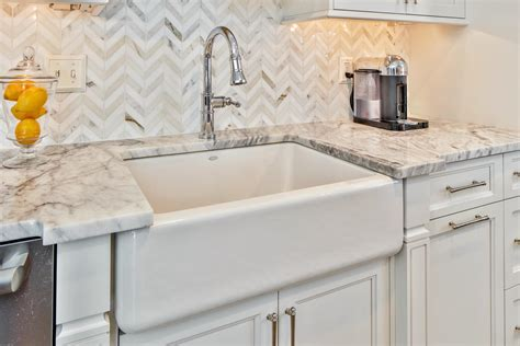 Timeless Grey And White Kitchen Middletown New Jersey By White Kitchen Farmhouse Sink