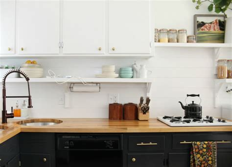 painted kitchen backsplash ideas wood backsplash 12 cheap backsplash ideas bob vila