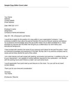 Editing Cover Letter by Cover Letter To Editor Free Cover Letter