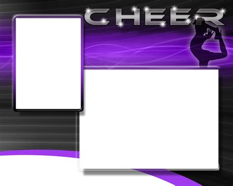 Cheerleading Photo Templates Cheer Bag Tag Template