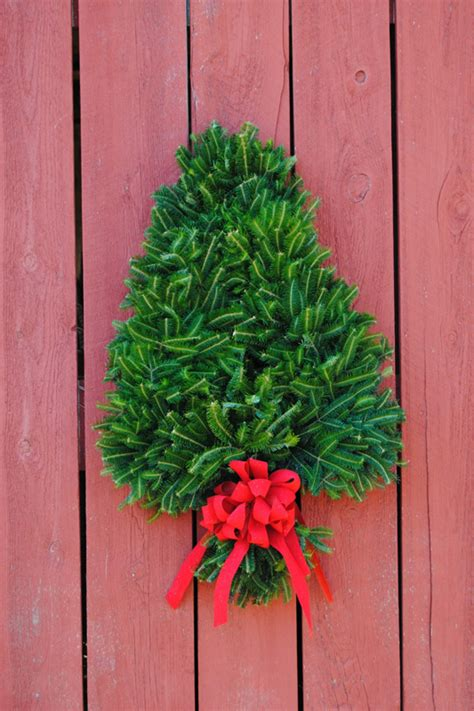 christmas tree wreath wholesale real wreaths