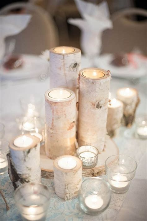 40 Stunning Winter Wedding Centerpiece Ideas   Deer Pearl