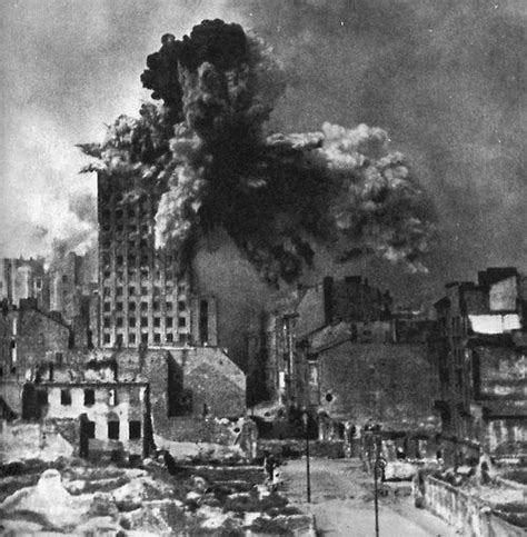 warsaw uprising the prudential building was warsaw s