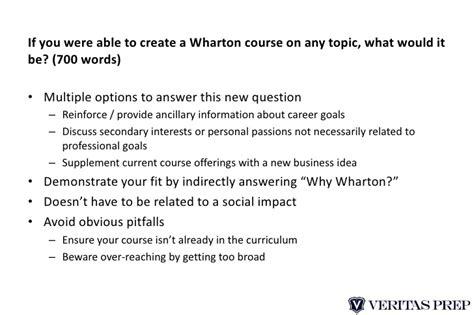 Wharton Mba Essay Topics by Breakdown Of Wharton Mba Admissions Essays