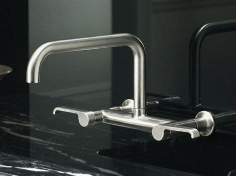 kohler wall mount kitchen faucet kohler torq bridge faucet the new kitchen sink faucet