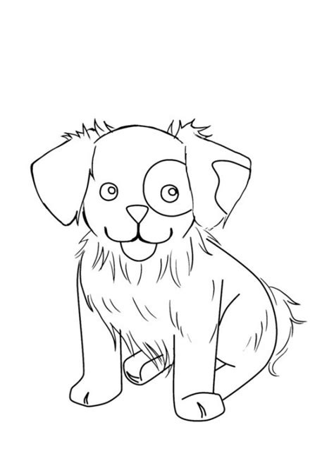 free coloring pages of cute puppies puppy coloring pages 360coloringpages