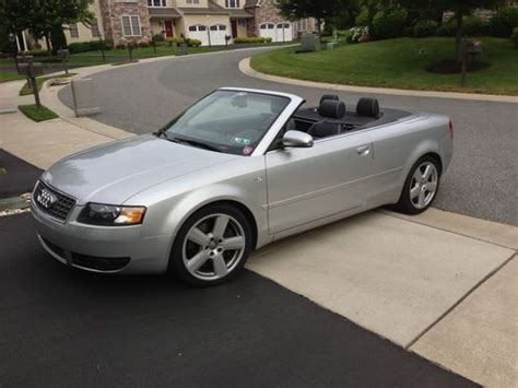 audi 4 door convertible buy used 2005 audi s4 cabriolet convertible 2 door 4 2l in