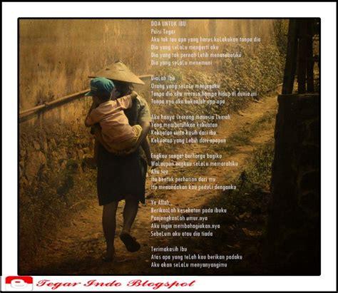 kumpulan puisi  ibu tegar indo blog