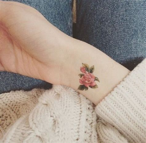 indie tattoo inspiration tattoo flowers and rose image indie tumblr pink tat idea