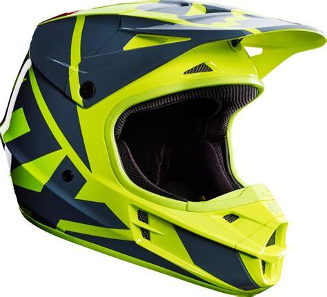 yellow motocross helmet 169 95 fox racing mens v1 race dot approved motocross mx