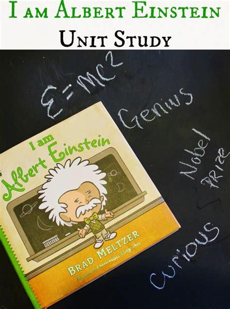 albert einstein a biography milton meltzer i am albert einstein by brad meltzer unit study day 1
