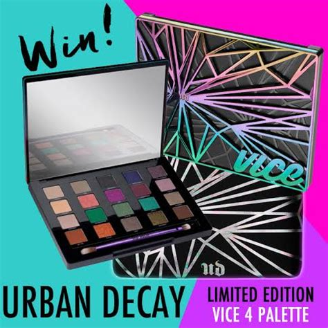 Urban Decay Giveaway - urban decay vice4 giveaway padour