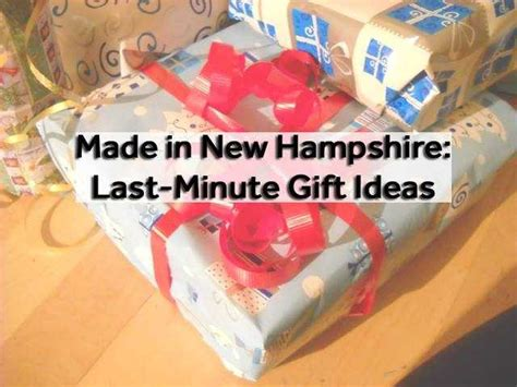 buy local    minute gift ideas