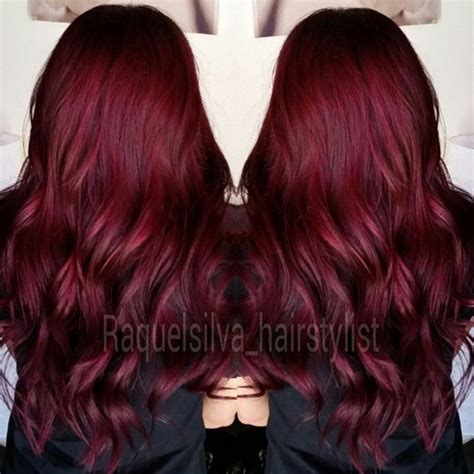 deep red color the gallery for gt dark brown purple tint hair color