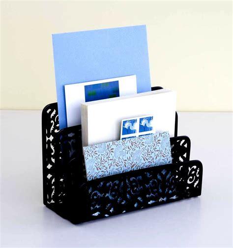 Letter Holders For Desk by New Mail Organizer Design Ideas Brocade Letter Holder