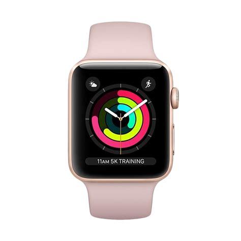 apple watch 3 harga jual apple watch series 3 gps 38mm gold alum with pink
