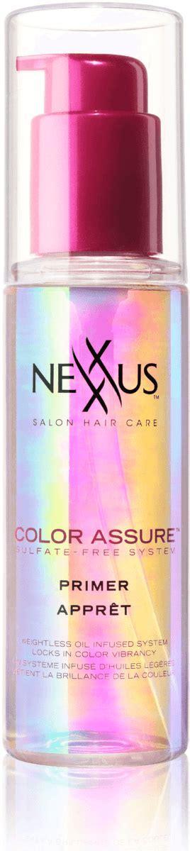nexxus color assure pre wash primer tips to prevent hair color fading jenns blah blah