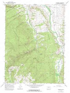 glendevey topographic map co usgs topo 40105g8