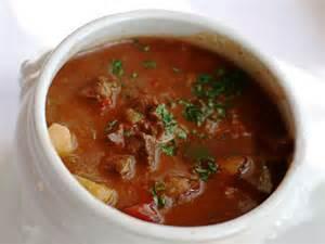 German goulash soup soup recipe german goulash soup dish cooking