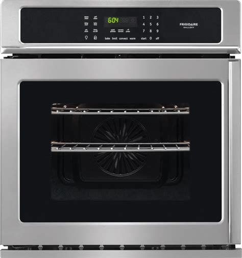 side swing oven frigidaire fgew276spf 27 inch single electric wall oven
