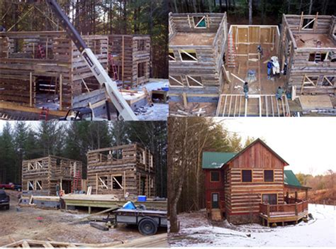 Restored Log Cabins by Exles Of Our Log Cabin Restoration And Relocation Work