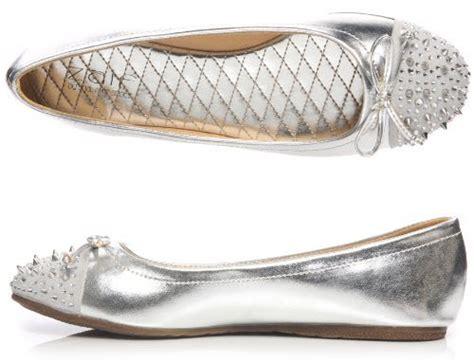 silver flat prom shoes choozone