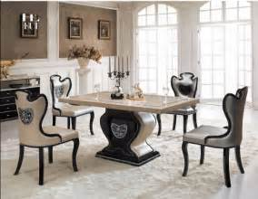 Luxury Dining Table Singapore Marble Top Dinning Table Affordable Kitchen Dinner