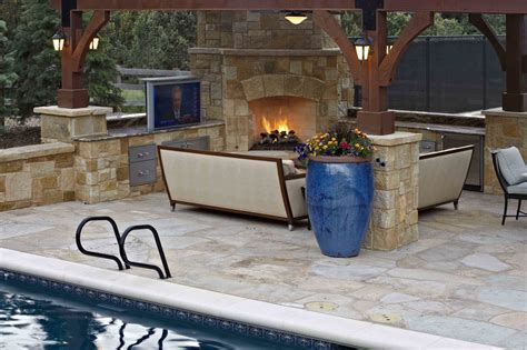 outdoor kitchen designs with pool kitchen dainty outdoor designs immaculate rustic patio