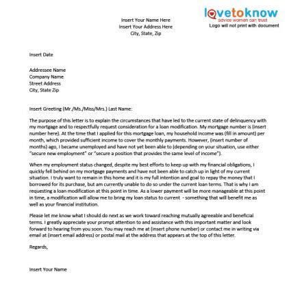 Letter Of Explanation For Mortgage Refinance sle hardship letter for a loan modification lovetoknow