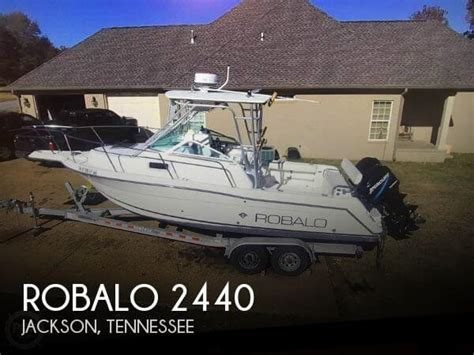 fishing boats for sale jackson tn sold robalo 2440 boat in jackson tn 126804