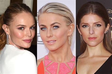 earring revealing celebrity hairstyles  bling