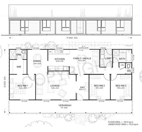 springvale  bed steel frame floor plan met kit homes