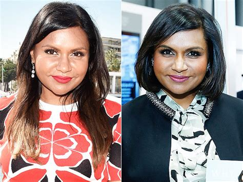 did mindy lahere cut her hair mindy kaling cuts her hair mindy kaling gets a bob