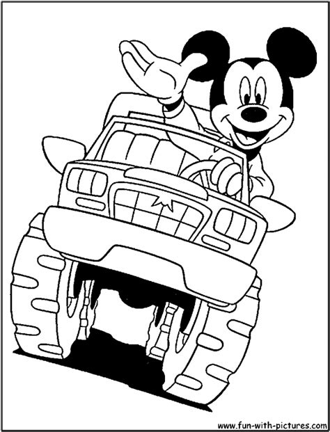 printable coloring pages of cars and trucks monster truck coloring sheet many interesting cliparts