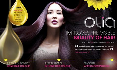 garnier hair colour models image gallery olia advert
