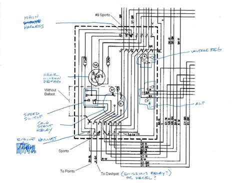 1972 porsche 911 wiring diagram 1972 free engine image