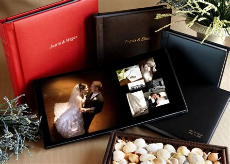 Professional Wedding Photo Albums by Handcrafted Wedding Albums Professional Flush Mount