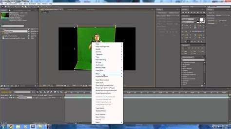 color key how to color key in after effects