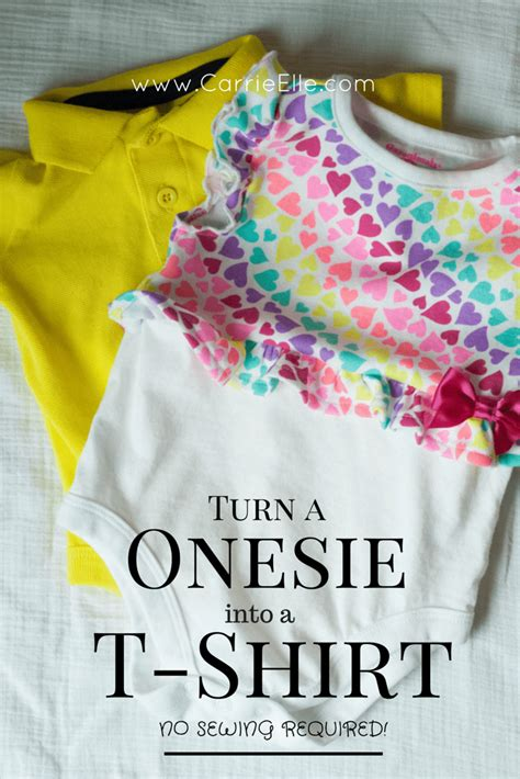 t shirt onesie pattern how to turn a onesie into a t shirt