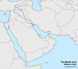 middle east map no names test your geography knowledge middle east bodies of water quiz lizard point