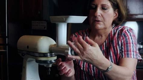Kitchenaid and the Kibbe Attachment   YouTube