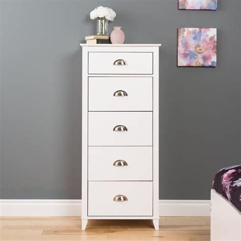white lingerie dresser 5 drawer lingerie chest in white wdbr 1204 1