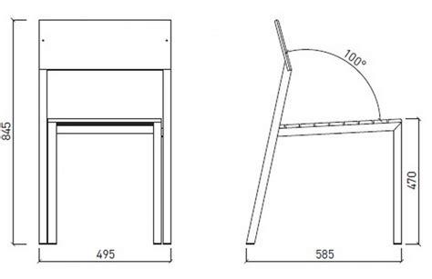 Chaise Exterieure by Chaise Ext 233 Rieure De Terrasse Cora En M 233 Tal Aluminium De