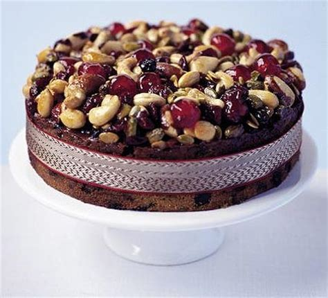 Summer Lunch Menu Ideas For Entertaining - jewelled fruit nut amp seed cake bbc good food