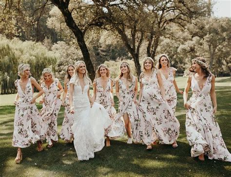 Best 25  Floral bridesmaid dresses ideas on Pinterest