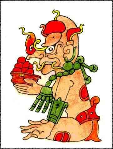 imagenes de uñas aztecas dibujos de dioses mayas kauil dios del fuego