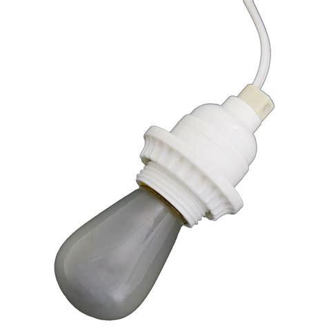 in light socket with cord white lantern power cord light socket set standard base