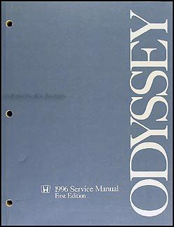 best auto repair manual 1996 honda odyssey user handbook 1996 honda odyssey repair shop manual original